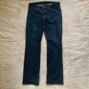 J. Crew dark wash bootcut Jeans 32T 32X35